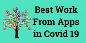 Best Work From Home apps in COVID-19